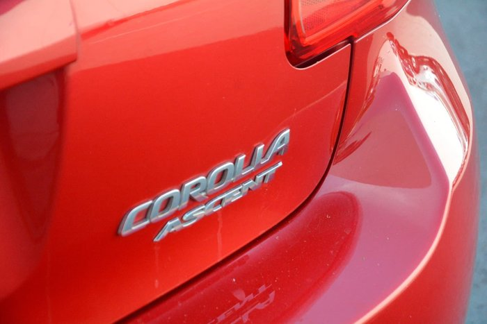 2007 Toyota Corolla Ascent ZRE152R Red