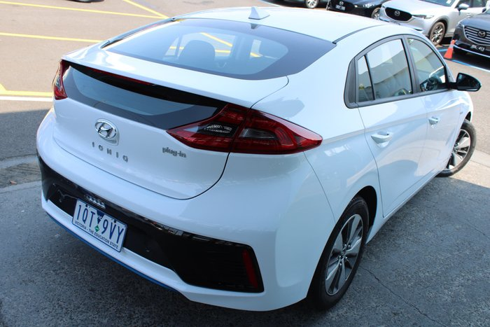 2018 Hyundai IONIQ plug-in Elite AE.2 MY19 White