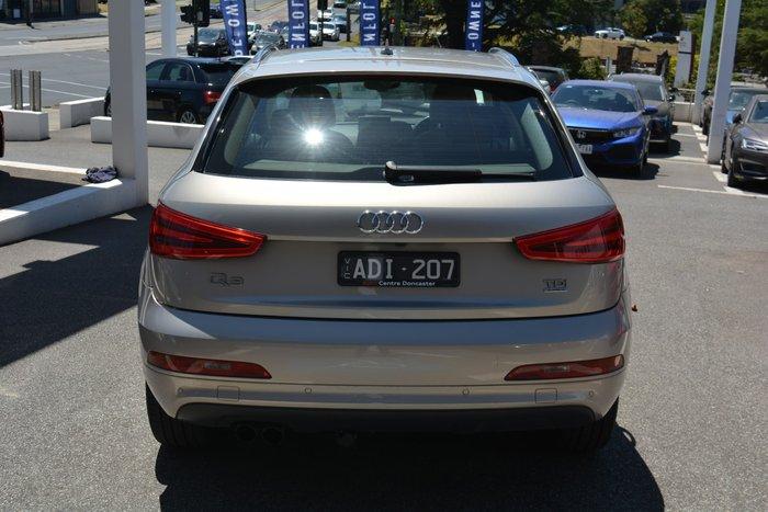 2014 Audi Q3 TDI 8U MY14 Four Wheel Drive Beige