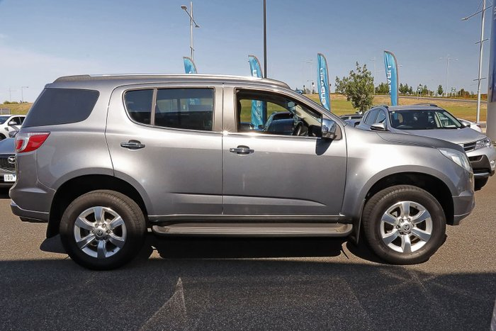 2015 Holden Colorado 7 LTZ RG MY15 4X4 Dual Range Grey