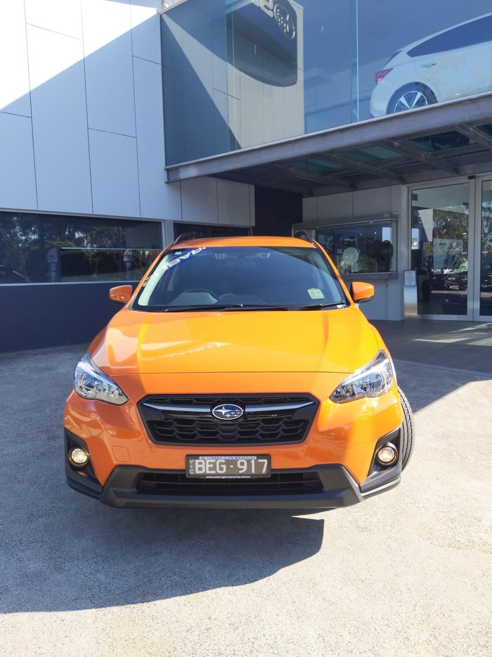 2019 Subaru XV 2.0i Limited Edition G5X MY19 Four Wheel Drive Orange