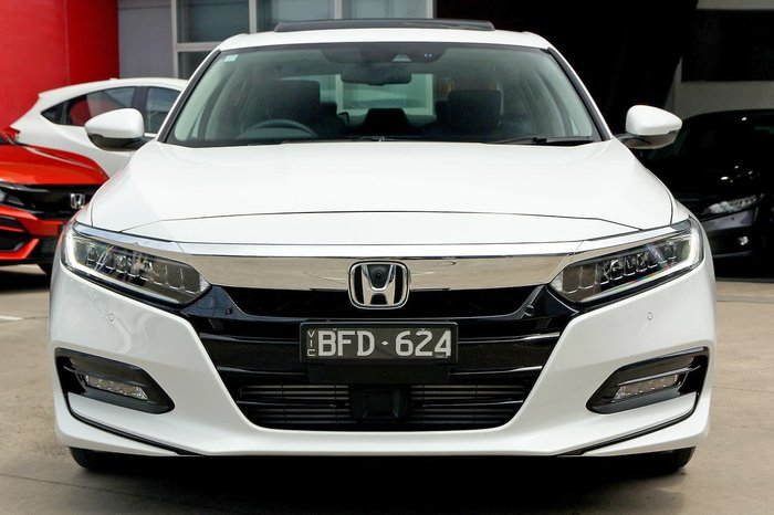 2019 Honda Accord VTi-LX 10th Gen MY19 White