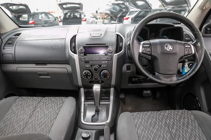 2012 Holden Colorado LT RG MY13 4X4 Dual Range Silver