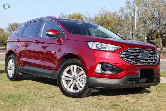 2019 Ford Endura Trend CA MY19 Four Wheel Drive Red