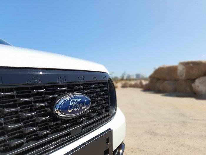 2019 Ford Ranger FX4 PX MkIII MY20.25 4X4 Dual Range White