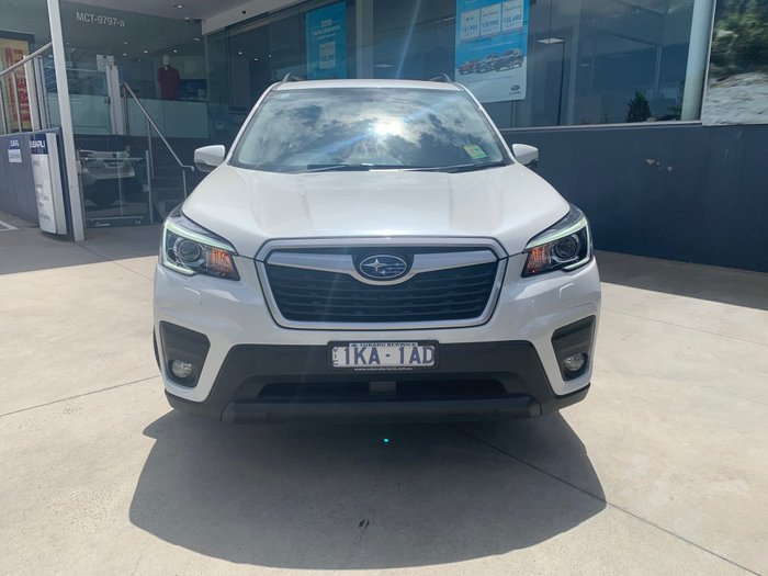 2019 Subaru Forester 2.5i-L S5 MY19 Four Wheel Drive White