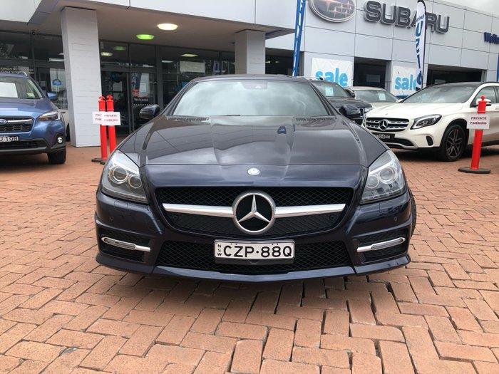 2015 Mercedes-Benz SLK-Class SLK250 R172 MY15 Blue