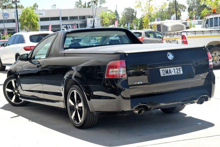 2016 Holden Ute SV6 Black VF Series II MY16 Black