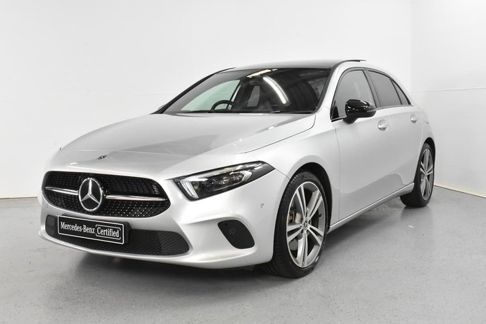 2018 Mercedes-Benz A-Class A250 Limited Edition W177 Four Wheel Drive Silver