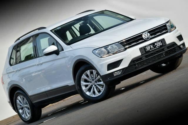 2019 Volkswagen Tiguan 110TSI Trendline 5N MY20 PURE WHITE