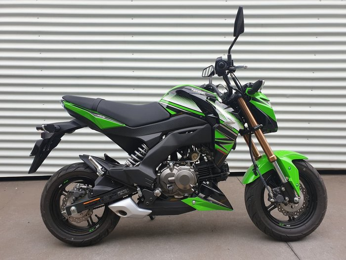 2017 KAWASAKI Z125 PRO (BR125J) null null Green