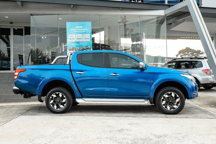 2017 Mitsubishi Triton Exceed MQ MY17 4X4 Dual Range Blue