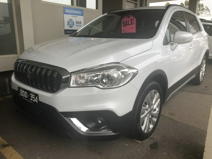 2018 Suzuki S-Cross Turbo JY COOL WHITE