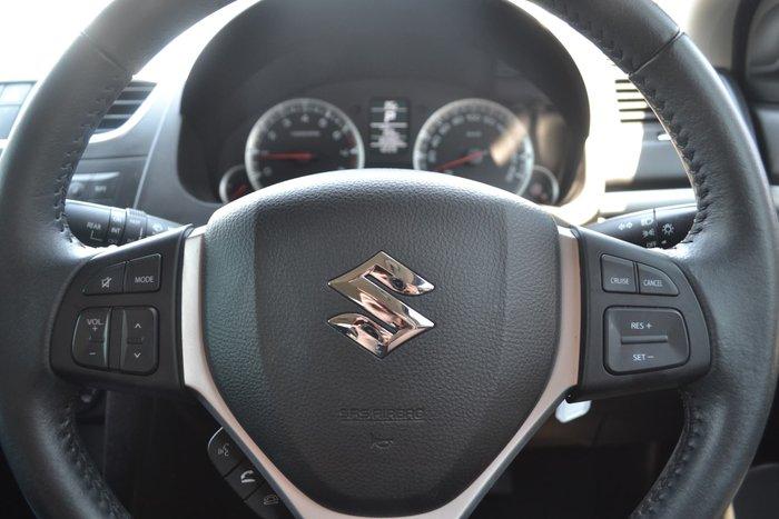 2016 Suzuki Swift GL FZ MY15 White