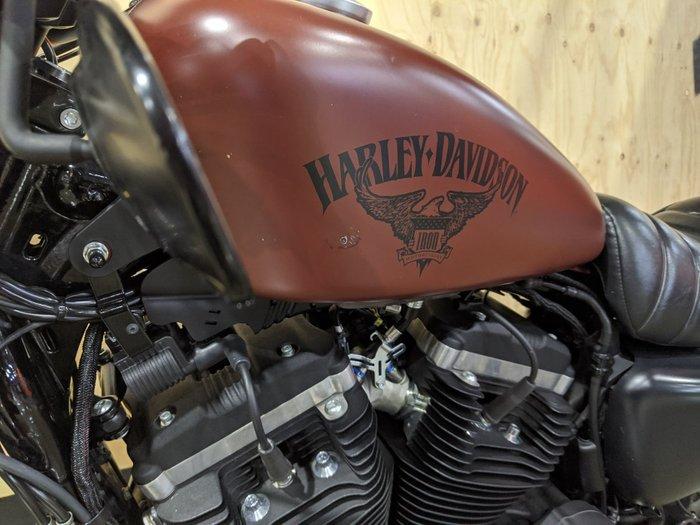 2017 HARLEY-DAVIDSON XL883N IRON 883 Burgundy