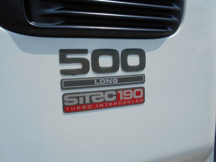 2004 ISUZU FRR 500 LONG null null White