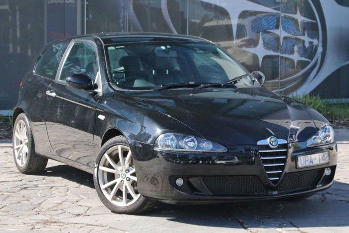 2006 Alfa Romeo 147 Ti Series 3 MY05 Black