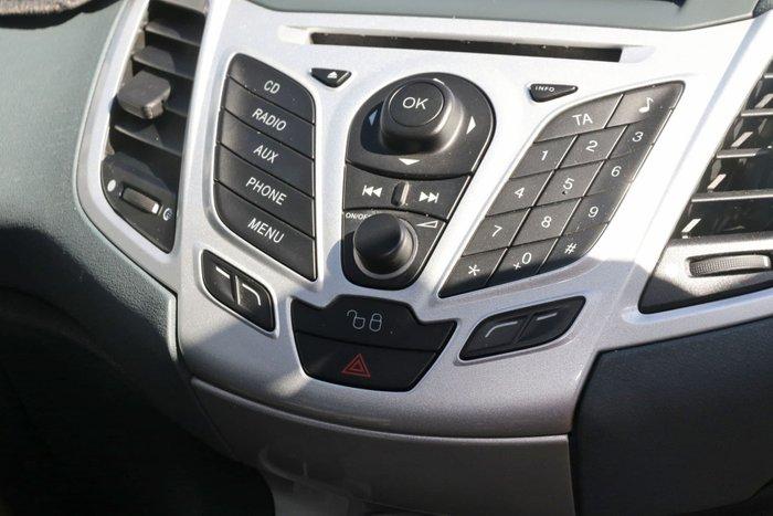 2010 Ford Fiesta Zetec WS Silver
