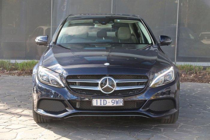 2016 Mercedes-Benz C-Class C250 W205 Blue