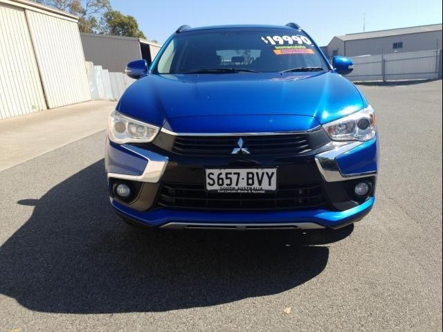 2017 Mitsubishi ASX 2017 Mitsubishi ASX LS (2WD) 4D WAGON 4CYL Blue