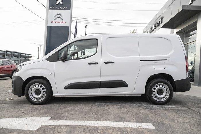 2019 Peugeot Partner 92 HDI K9 MY19 White