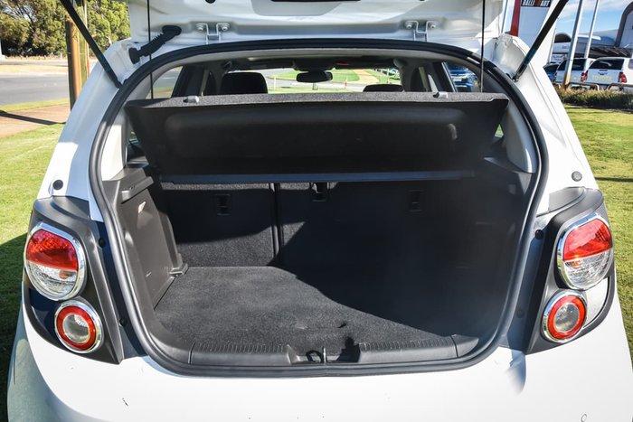2013 Holden Barina CDX TM MY13 White