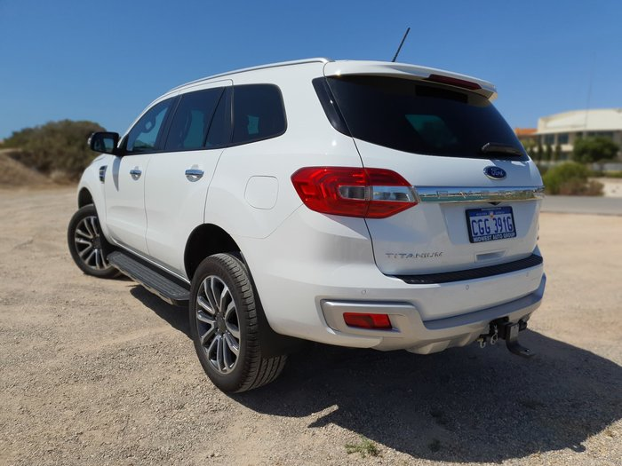 2019 Ford Everest Titanium UA II MY19.75 4X4 Dual Range White