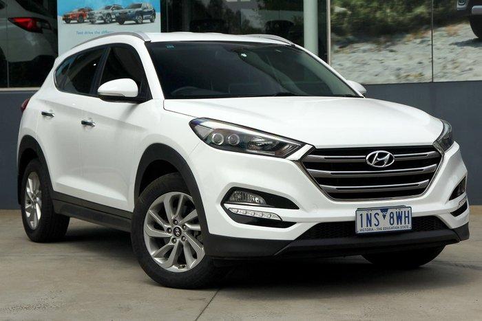 2016 Hyundai Tucson Elite TLe 4X4 On Demand White