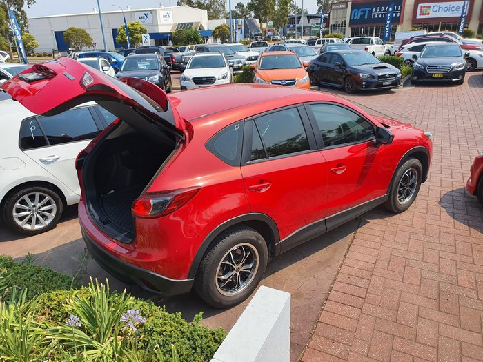 2012 Mazda CX-5 Maxx KE Series Red