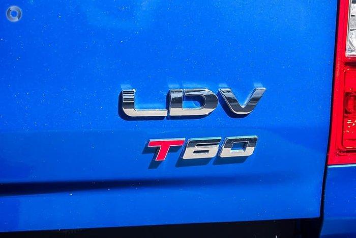 2019 LDV T60 LUXE SK8C 4X4 Dual Range Blue