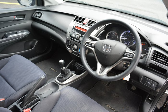 2012 Honda City VTi GM MY12 Black