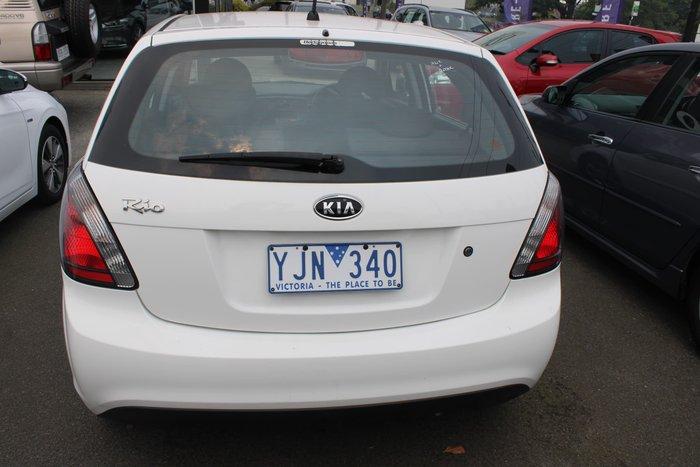 2011 Kia Rio S JB MY11 White