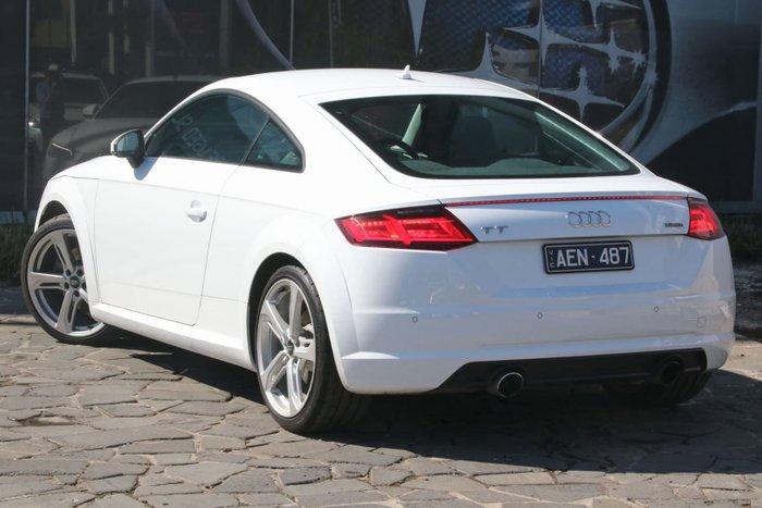 2014 Audi TT 8J MY14 Four Wheel Drive White