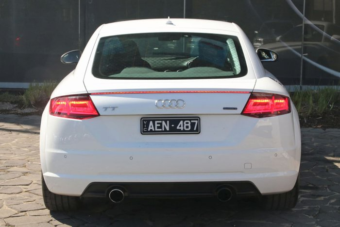 2015 Audi TT Sport FV MY15 Four Wheel Drive White