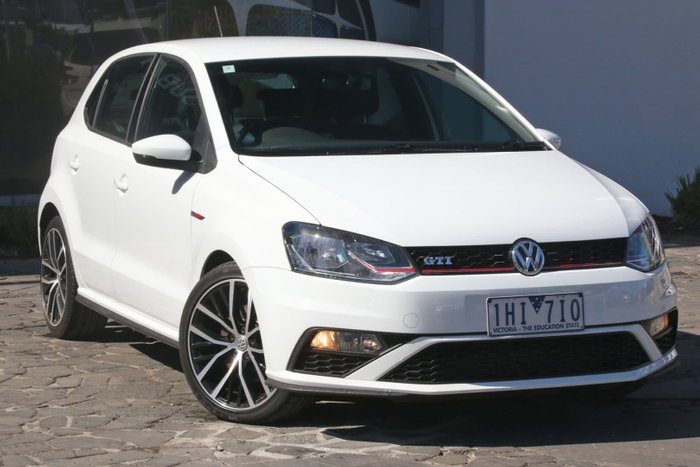 2016 Volkswagen Polo GTI 6R MY16 White