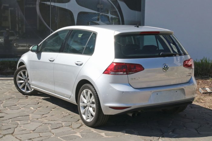 2015 Volkswagen Golf 110TSI Highline 7 MY16 Silver