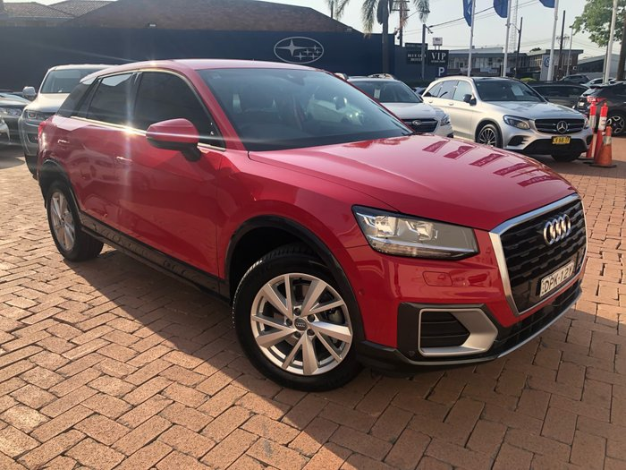 2017 Audi Q2 design GA MY17 Red