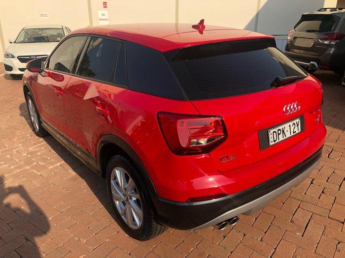 2017 Audi Q2 design GA MY17 Red