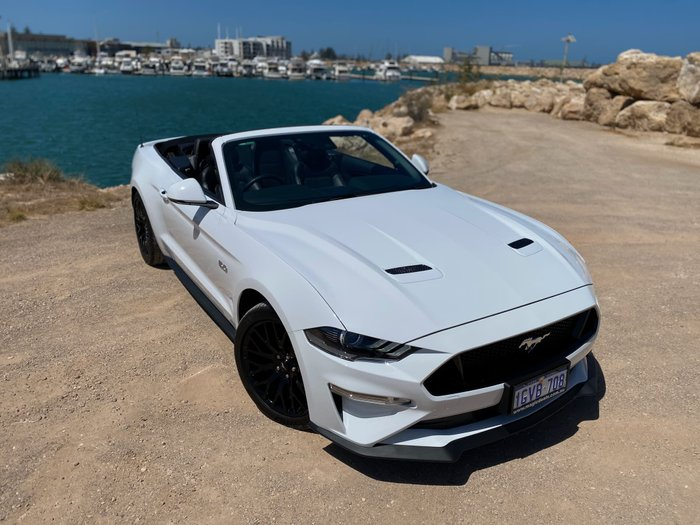2018 Ford Mustang GT FN MY19 White