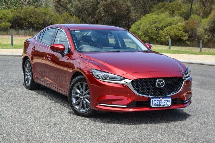 2019 Mazda 6 Touring GL Series Red