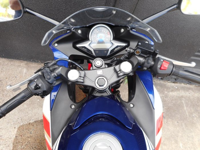 2011 Honda CBR250R Tri-Colour