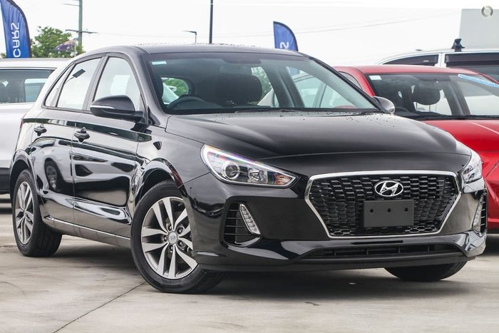 2019 Hyundai i30 Active PD2 MY20 Black