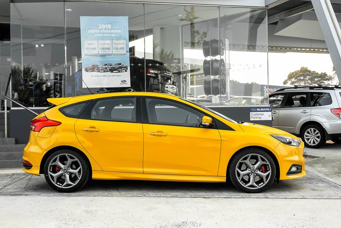2014 Ford Focus ST LZ Yellow