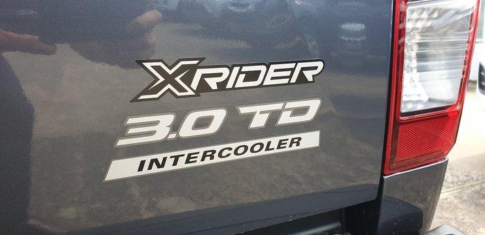 2019 Isuzu D-MAX X-Rider MY19 4X4 Dual Range Grey