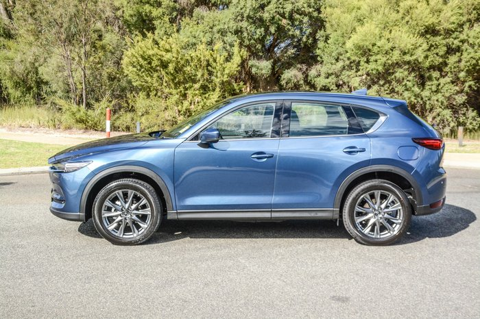 2019 Mazda CX-5 Akera KF Series 4X4 On Demand Blue