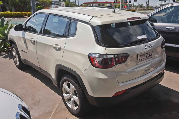 2018 Jeep Compass Sport M6 MY18 White