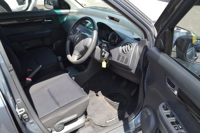 2010 Suzuki Swift RS415 Grey