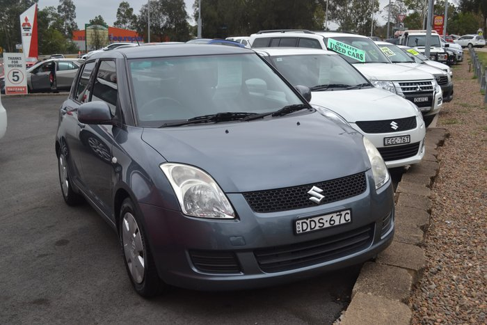 2010 Suzuki Swift RS415 Grey