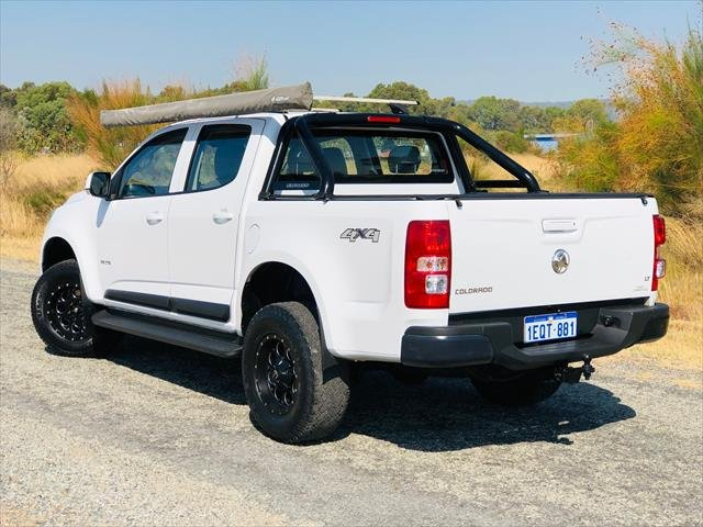 2012 Holden Colorado LT RG MY13 4X4 Dual Range White