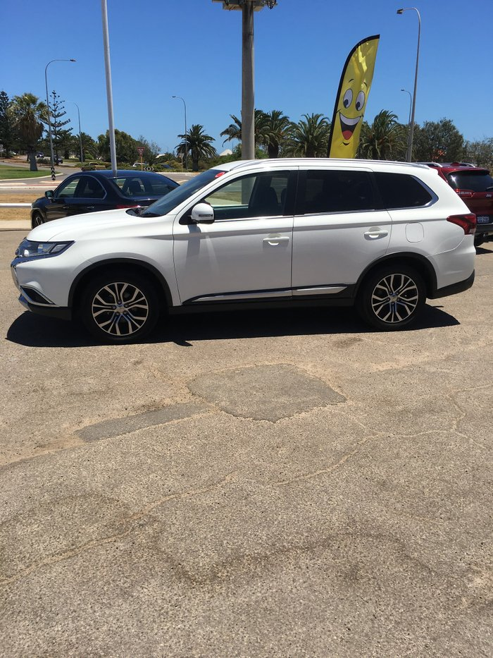 2016 Mitsubishi Outlander XLS ZK MY16 4X4 On Demand White